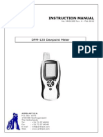 Dew Point Meter Manual.