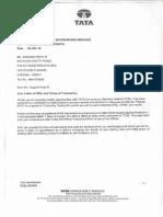 TCS - Offer Letter