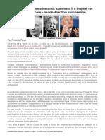 Histoire de l'ordo-libéralisme allemand