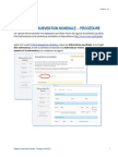 Subvention Mondiale Procedure de Rapport