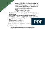 Socialización Norma de Evaluación