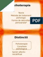 Psihoterapia - Sem I - An 3