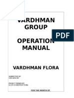 COnstruciton Operation Manual