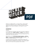 Secret Hitler Rules