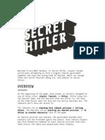 Secret Hitler Rules