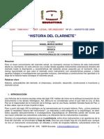 Historia de clarinete - Ángel Muñoz
