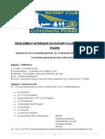 ATT 1438818570448 5- R¿¿Glement Int¿ªrieur Du Rotary Club de Cotonou Phare Aout 2014-Amend¿ª-Agc-080814