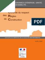 DGALN Plaquette Controle Respect Regles Construction Avril2009