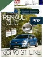 "NOVO RENAULT CLIO 1.5 dCi 90 GT LINE NA ""AUTO FOCO"""