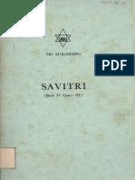 Savitri Fascicle