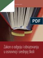 Zakon o Odgoju i Obrazovanju u OiSS
