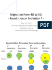 Migration From 4G to 5G