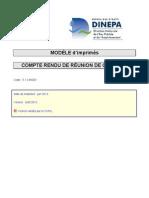 5.1.2 MOD1 Modele de CR de Reunion de Chantier