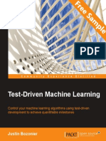 Test Driven Machine Learning - Sample Chapter