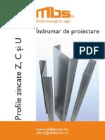 Indrumar_tehnic A4 Profile Zincate