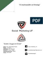 Social Marketing UF Affärsplan