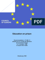 Education en Prison