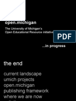 open.michigan enriching scholarship presentation