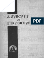 A Survey of English Syntax