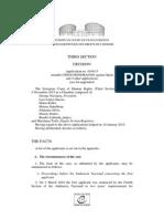 Resolución del TDHE sobre Otegi