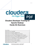 Cloudera Developer Exercise Instructions