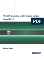 PIPESIM 2011.1.2 Release Nnotes