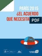 París 2015 ¿el acuerdo que necesitamos?
