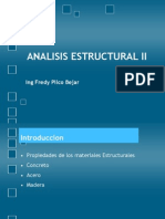 Analisis Estructural II Introduccion