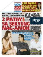 Pinoy Parazzi Vol 8 Issue 142 November 27 - 29, 2015