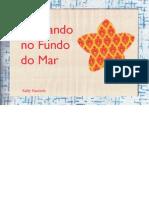 """""""BRINCANDO NO FUNDO DO MAR – tapete lúdico para crianças"""""""