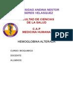 Monografia de Bioquimica Hemoglobina