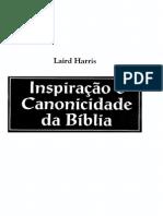 Inspiração e canonicidade da Bíblia - Laird Harris