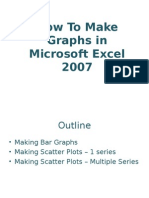 Excel How to Make Graphs