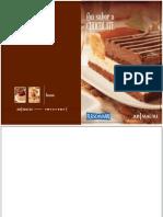 Recetario Con Sabor Chocolate