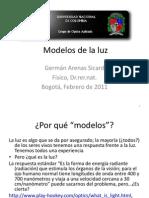 Presentación - Modelos de La Luz - Arenas