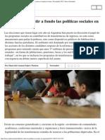 Perspectiva _ Es Hora de Debatir a Fondo Las Políticas Sociales en América Latin
