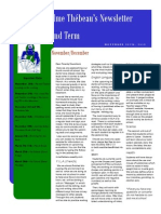 my classroom newsletter term 2 2015