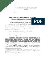 29 Procesul de Coagulare Floculare