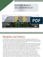 Ley Orgánica Del Banco Central de Costa Rica