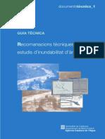 Recomanacions Tecniques Estudis Inundabilitat