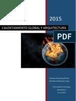 Calentamiento global y arquitectura