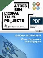 Presentació Tecnoespai Igualada