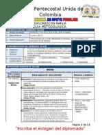 Guía Metodológica Diplomado