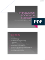 Lecture 1_introduction - Biochemical Engineering