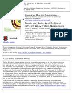 Almeida Et Al 2015 Whey Protein Profile