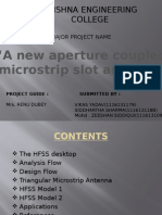 A New Aperture Coupled Microstrip Slot Antenna