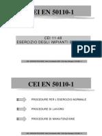 EN 50110-1 - Cafaro Presentation