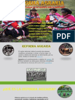 La Reforma Agraria Peru