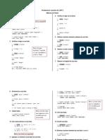 Segundo Problemario LISP