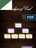 Analysis of Coal